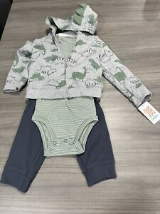NWT Carter's Dinosaur Baby Boy Outfit 18 Month A13