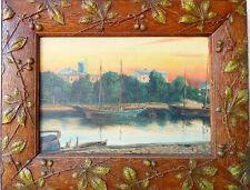 1900-1949 Original-direkt-vom-Künstler Antike & künstlerische Malerei mit Jugendstil