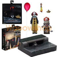 "IT Pennywise Accessory Set Ultimate Pennywise 2017 7"" Action Figure Clown NECA"