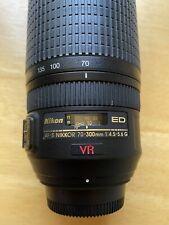 Nikon Zoom-NIKKOR 70-300mm f/4.5-5.6 M/A ED AF-S Lens - Very Clean