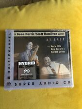 The Gene Harris Scott Hamilton Quintet At Last SACD Hybrid Multichannel New Seal