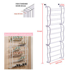 Hanging Shoes Organizer Over The Door For 36 Pairs Shoe Rack Closet Space Saving