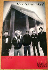 VENDETTA RED double sided 11x17 promo poster BETWEEN NEVER & NOW 2003 screamo