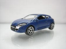 Diecast Majorette Renault Megane Coupe No. 222E Blue Very Good Condition