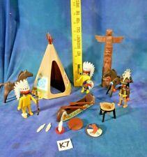 Rames Silver Metal NEW Playmobil Bateau Canoé Enfant Rouge 1 Place 12 cm