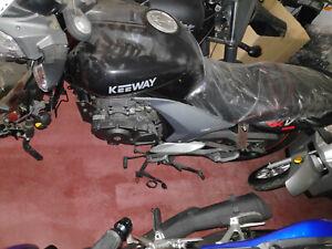 Keeway Blackster 250 EURO 3 Bastler Schlacht Rahmen Chopper