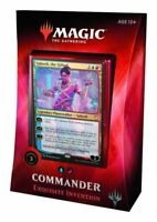 NEW Magic The Gathering 2018 Commander Deck - Exquisite Invention - Foil TCG MTG