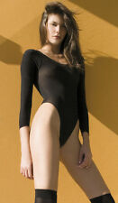 Patternless Long Sleeve Everyday Lingerie Bodies for Women