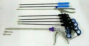 Laparoscopic 5mmx330mm Laparoscopy Endoscopy Instruments Set of 8