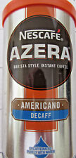 Nescafe 'AZERA' Decafe Barista Instant Coffee 1 x 100g (3.5oz) pack. From UK