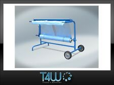 T4W Masking film dispenser rack 1 Roll blue automotive auto body stand