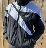 Reebok Classics   LF Vector Track Jacket   Black/White   Unisex   2XS-2XL   BNWT