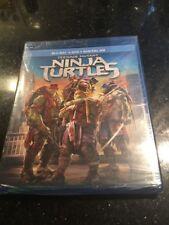 Teenage Mutant Ninja Turtles Blu-ray / DVD / Digital HD 2-Disc Set TMNT NEW