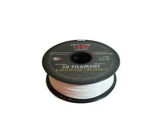 PLA 3D Printing Filament Cirrus White DIY Maker - 1.75mm 2.2LBS Prototype Labs