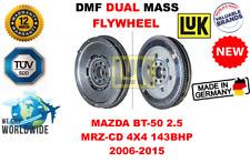 FOR MAZDA BT-50 2.5 MRZ-CD 4X4 143BHP 2006-2015 NEW DUAL MASS DMF FLYWHEEL
