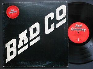 """BAD COMPANY Self Titled 12"""" Vinyl LP debut album 1974 Island Recs ILPS9279 GfdSv"""
