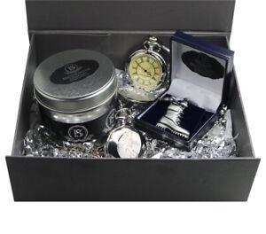 Personalised REME Gift Hamper Pocket Watch Keyring Army Boot ENGRAVED LUXURY SET