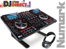 NUMARK NVII PRO 4 channel Deck DJ Serato Controller + LAPTOP STAND & HEADPHONES
