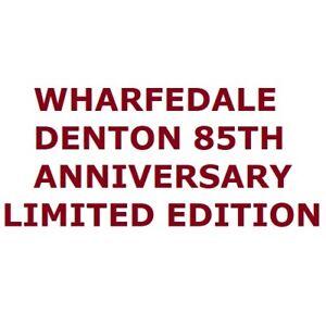 Wharfedale Denton 85 85th Anniversary Pair of Limited Edition Bookshelf Speakers
