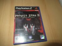 PlayStation 2 - Project Zero 2 PS2 PAL VERSION