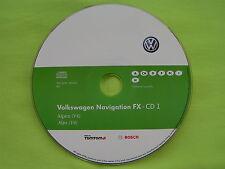 CD NAVIGATION FX ALPEN 2012 V4 VW RNS 310 TOURAN TIGUAN EOS CADDY SKODA AMUNDSEN