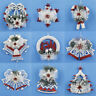 Christmas Chip Tree Ornaments Xmas Hanging Home Pendant Gifts Decorations Decor