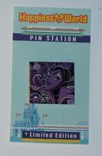 Disney Sleeping Beauty Maleficent pop art purple and paisley custom fantasy pin
