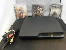 Sony PlayStation 3 Bundle w/ 3 Games & Controller