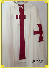 Knights Templar Complete Outfit (Free Ring)  Free Delivery