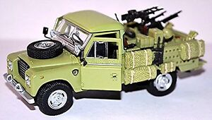 Land Rover 109 Military 1971-84 Green 1:43