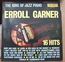ERROL GARNER THE KING OF JAZZ PIANO FRENCH LP MUSIDISC