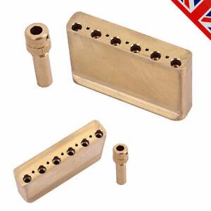 Brass Guitar Tremolo Bar Block sets for Classic Vibe 50's/60's MIM Strat Guitar