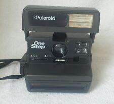 Vintage Polaroid Instant One Step Flash 600 Film Camera with Film