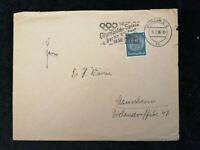 Deutsches Reich 09.07.1936 - Brief mit Stempel Olympische Spiele Berlin