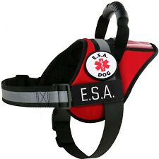 Emotional Support Animal Vest ESA Support Dog Harness Patches ALL ACCESS CANINE™