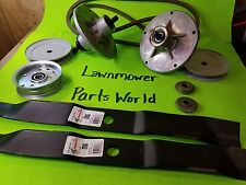 """42"""" Deck Rotary Rebuild Kit w/ Spindle Blade Belt Pulley for Murray 425618X48A +"""