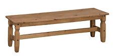 Mercers Furniture CORONA Bench - Pine 5 FT 150x35x45 Cm