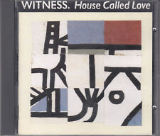 Witness : House Called Love Religious Rock CD FASTPOST
