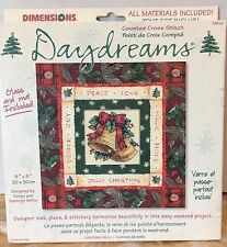 Dimensions Daydreams Christmas Bells Counted Cross Stitch Kit NEW