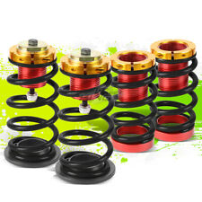 """BLACK SPRING 1""""-4"""" SUSPENSION COILOVER KIT REPLACEMENT FOR 12-15 HONDA CIVIC"""