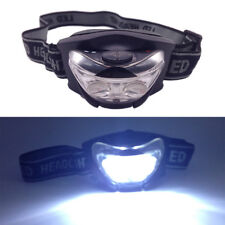 Elastic 2 White + 1 Red LED Headlamp Head Light Camping Body Head lamp Torch