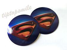 Aluminum Superman Car Emblem Decal Auto Body Badge Fuel Tank Motorcycle Stickers