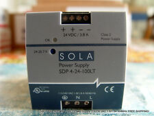 USED Sola SDP 4-24-100LT Power Supply 115/230 VAC 1.8/1.0A 50/60Hz FREE SHIPPING