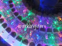 LED Multi Color Christmas Holiday Party Lights Indoor 100 Lights