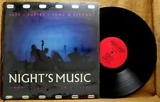RARE JAZZ POETRY  LP : NIGHT'S MUSIC, JIMMY LYONS / PHIL DEAL Private Label