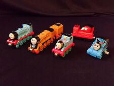 Lot of Diecast Thomas Trains Take N Play or Take Along Railway