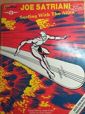 Joe Satriani: Surfing with the Alien (1988) Guitar Tablature Book cherry lane
