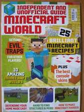 Minecraft World Issue 5 25 Recipes Builds Setting Traps Best Console Skins