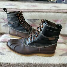 """Wolverine Felix """"duck boot� style 6� brown and black Mens Size 9.5 M"""