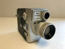 8mm Movie Camera Bell & Howell/Canon Motor Zoom 8 EEE (Vintage/Art Deco)